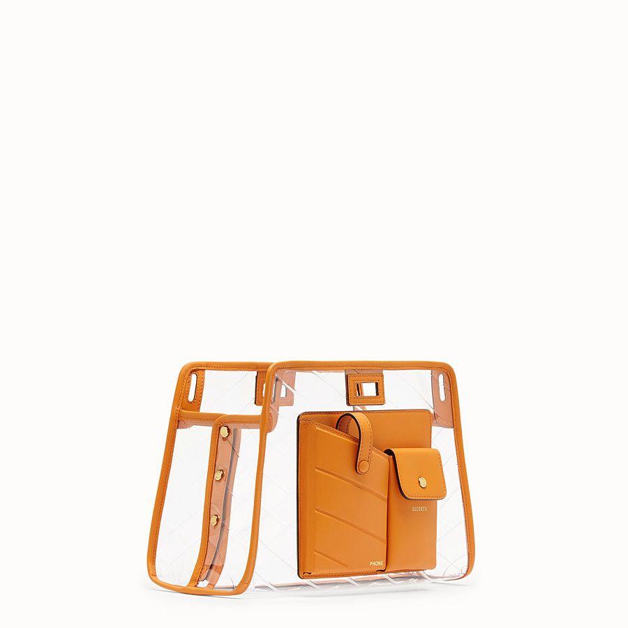 2d928c7668 Small peekaboo defender in 2019   MISC ACC.   Orange leather, Fendi ...