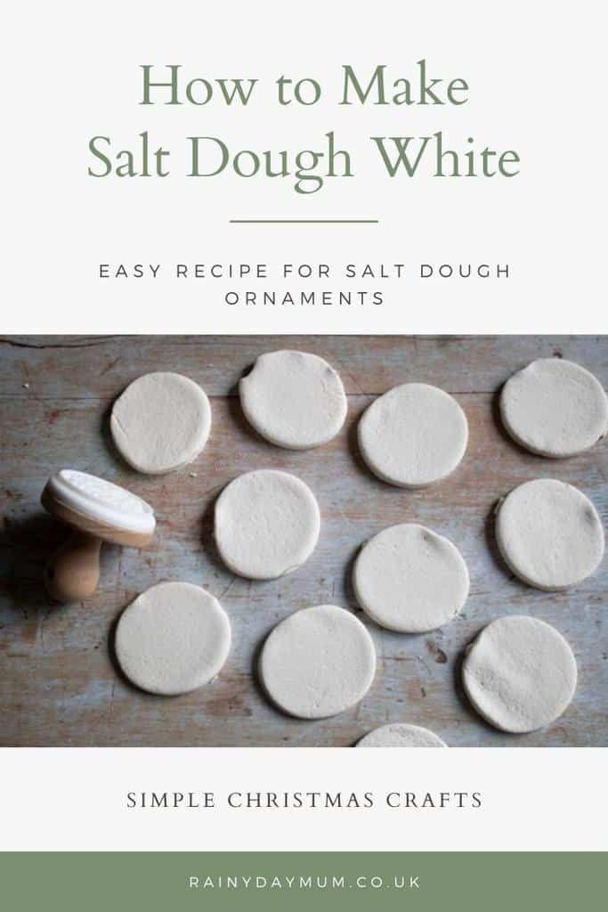 White Salt Dough Recipe