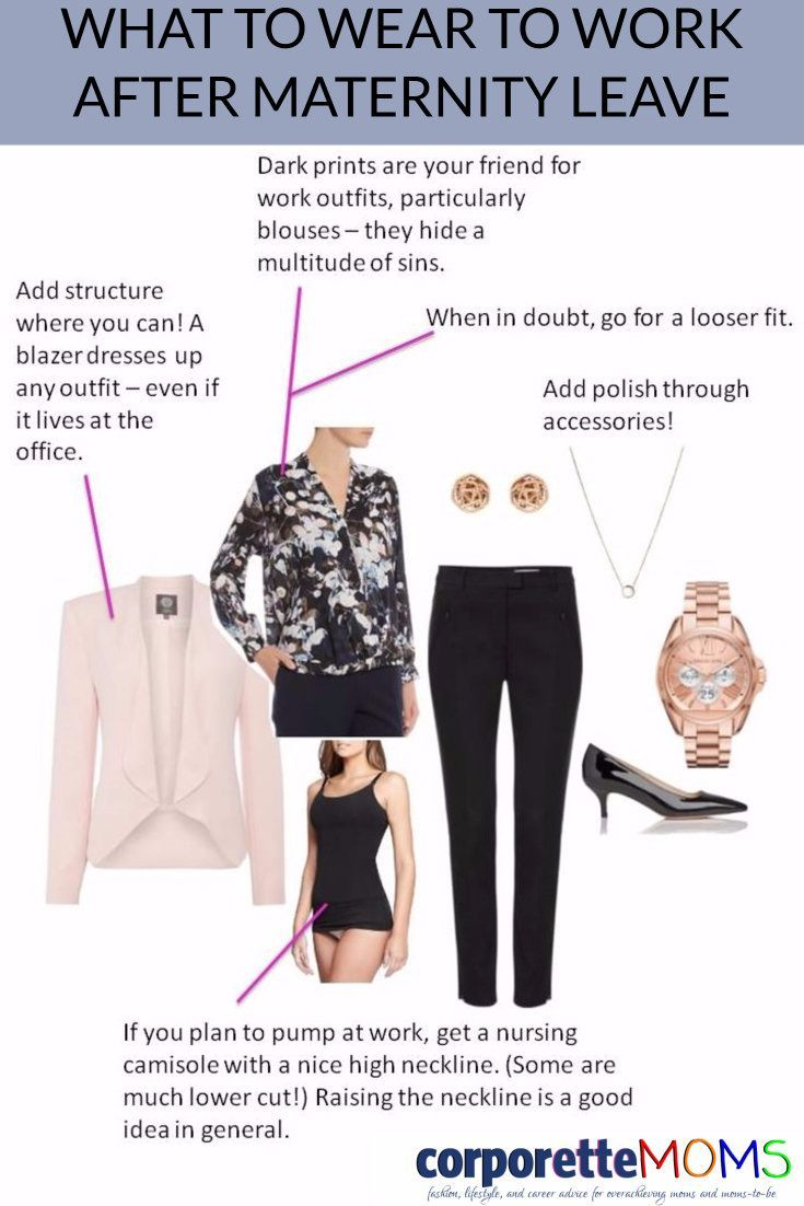7a4b5356acca5 A reader wondered what to wear to work after maternity leave, so we put  together NINE rules.
