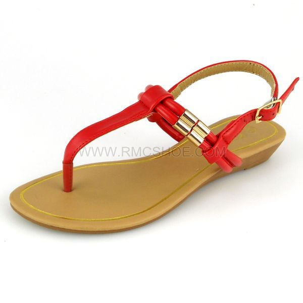 374049bc9 Sandal pu simple fancy sandals for girls