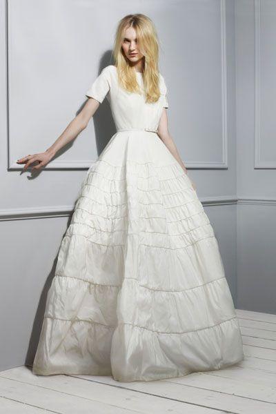 Rochas' taffeta-twill gown