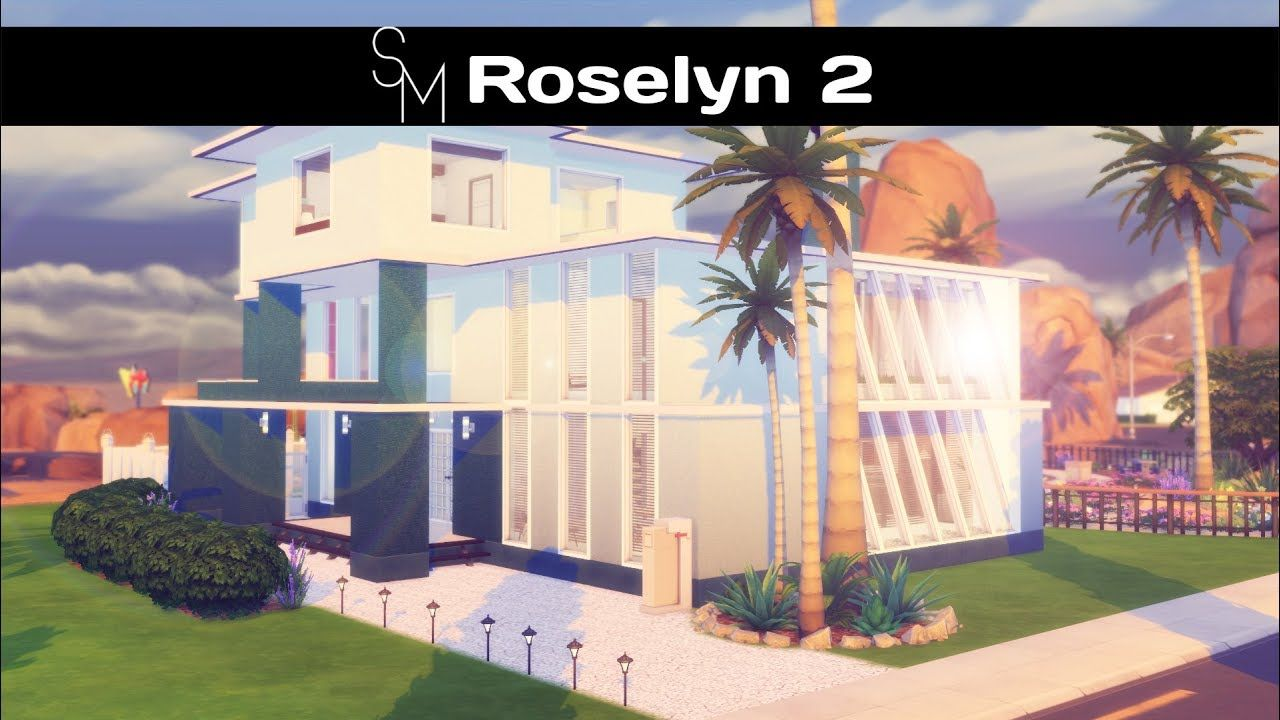 the sims 4 speed build roselyn part 2 cc links house download rh pinterest com  sims build a house online free