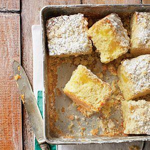 Delightful Spring Desserts | Lemon-Yogurt Crumb Cake