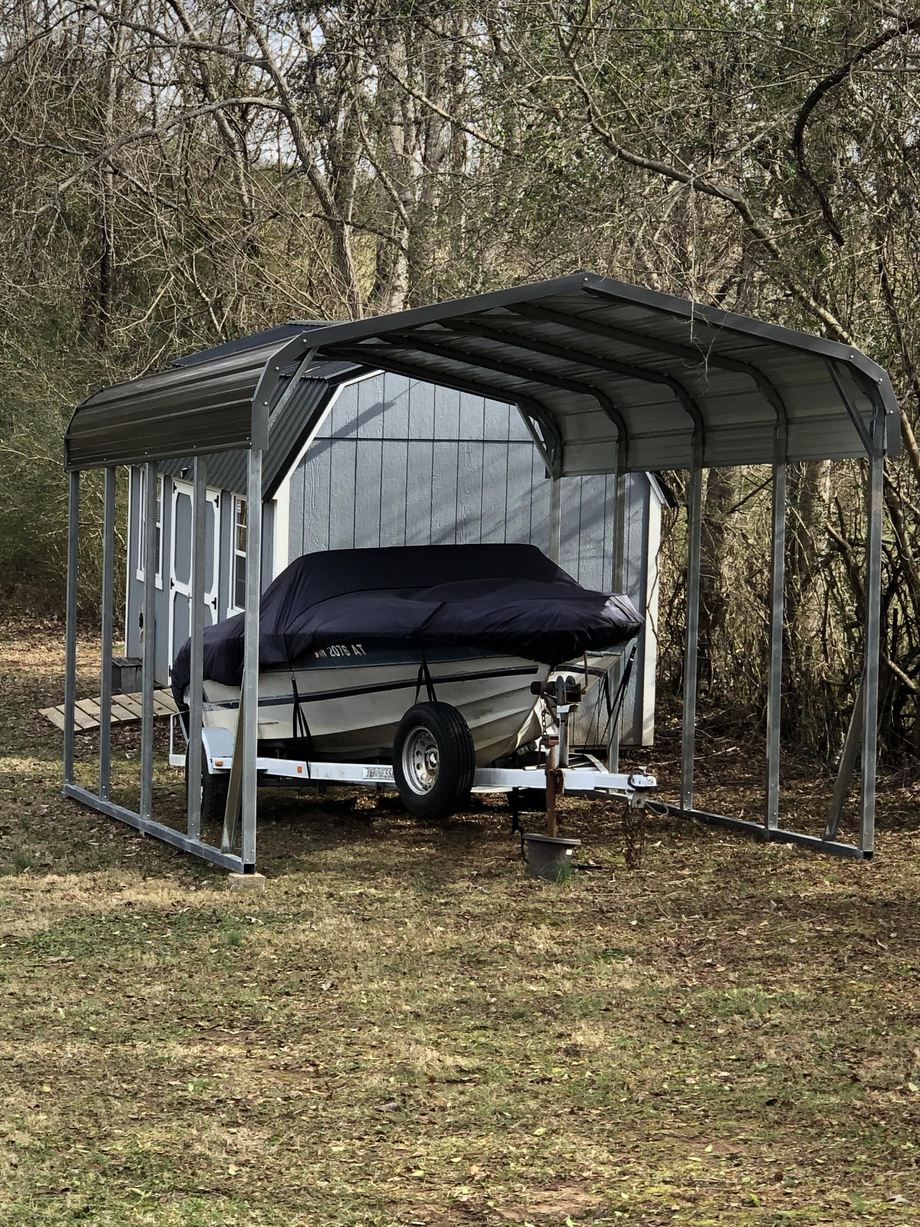 12x21 regular metal carport Alan's Factory Outlet in