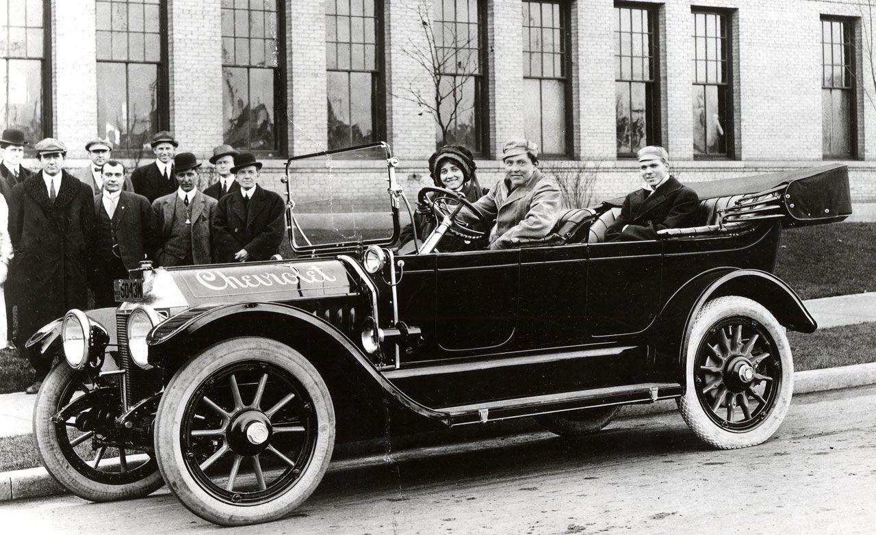 1910s Car From William Crapo Durant Chevrolet Centennial