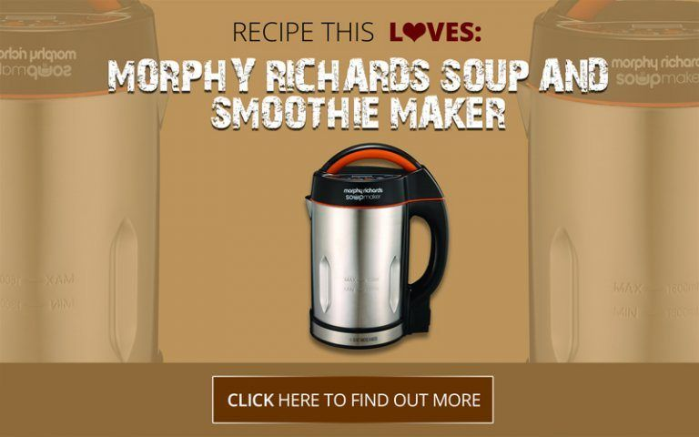 Morphy Richards Soup Amp Smoothie Soup Maker Review Recipe