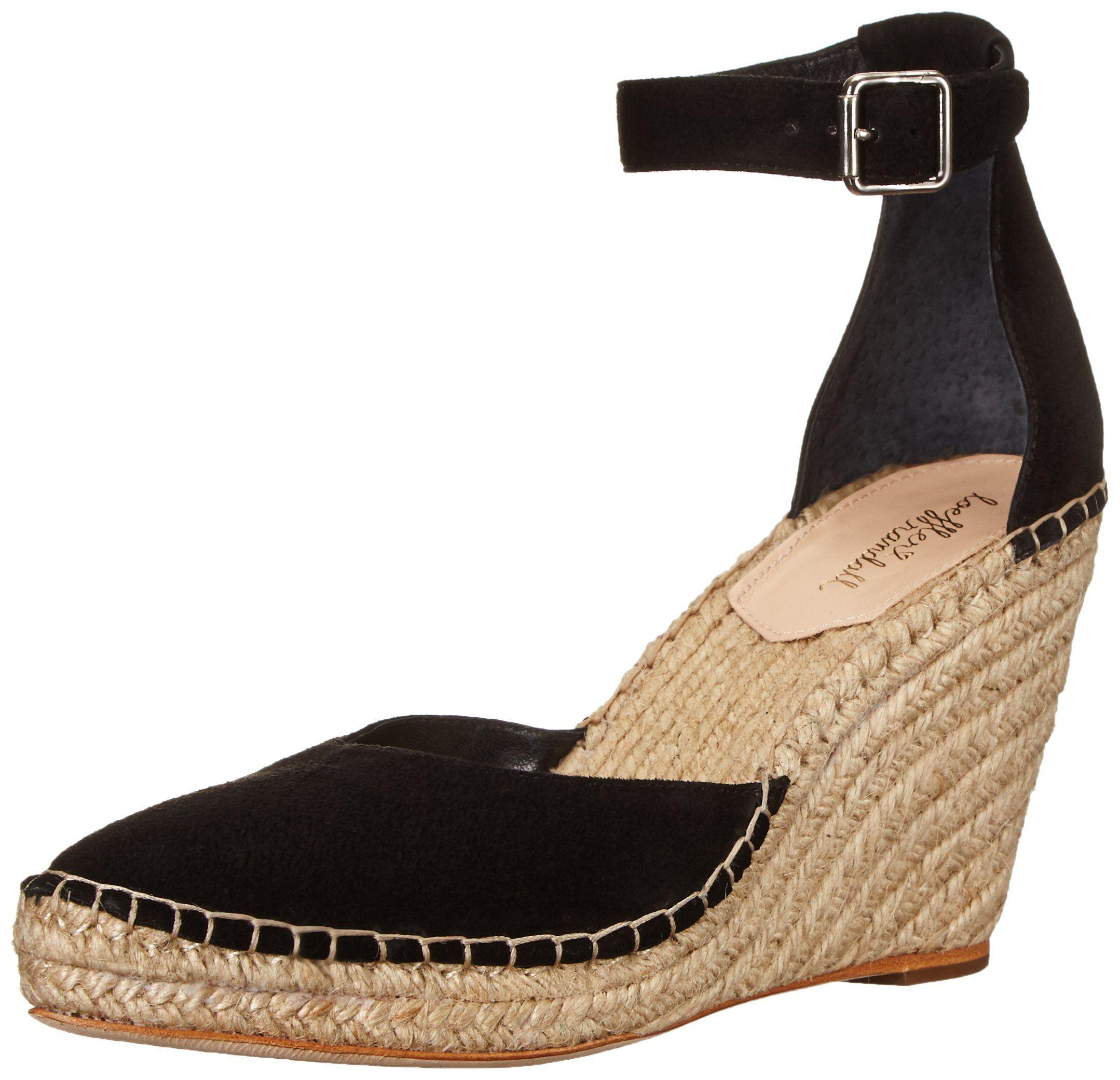 Loeffler Randall Woman Suede Espadrille Sandals Black Size 8.5 Loeffler Randall Eastbay Cheap Online R8joce4U