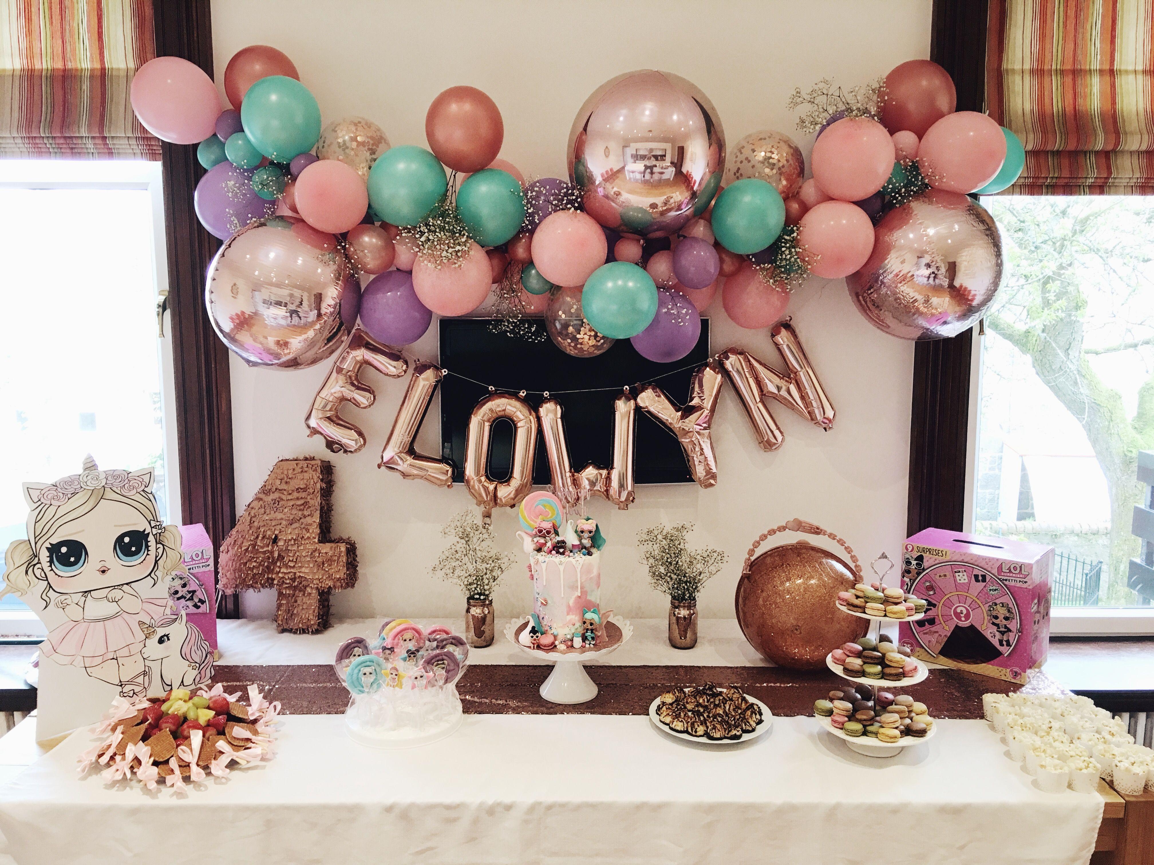 Lol Surprise Birthday Party Decorations Desert Table Birthday