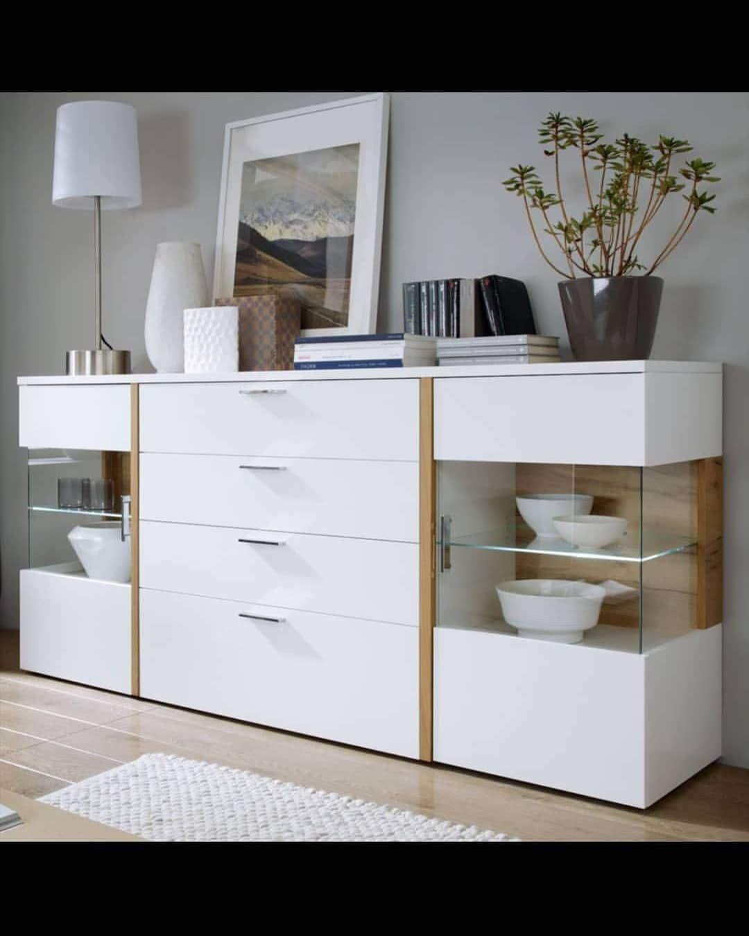 Pin By Bunny Vonsleeps On Anew Sideboard In 2020 Dining Room Furniture Design Crockery Unit Design Crockery Cabinet Design