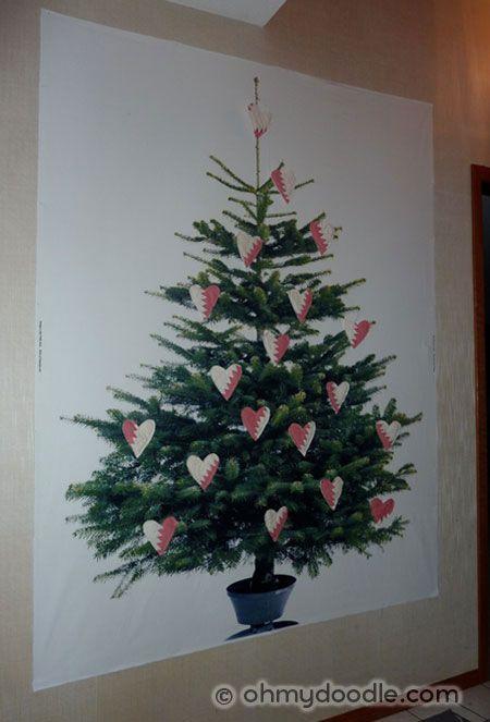 Ikea Weihnachtsbaum.Ikea Margareta Fabric Tree With Hearts Ohmydoodle Holidaze
