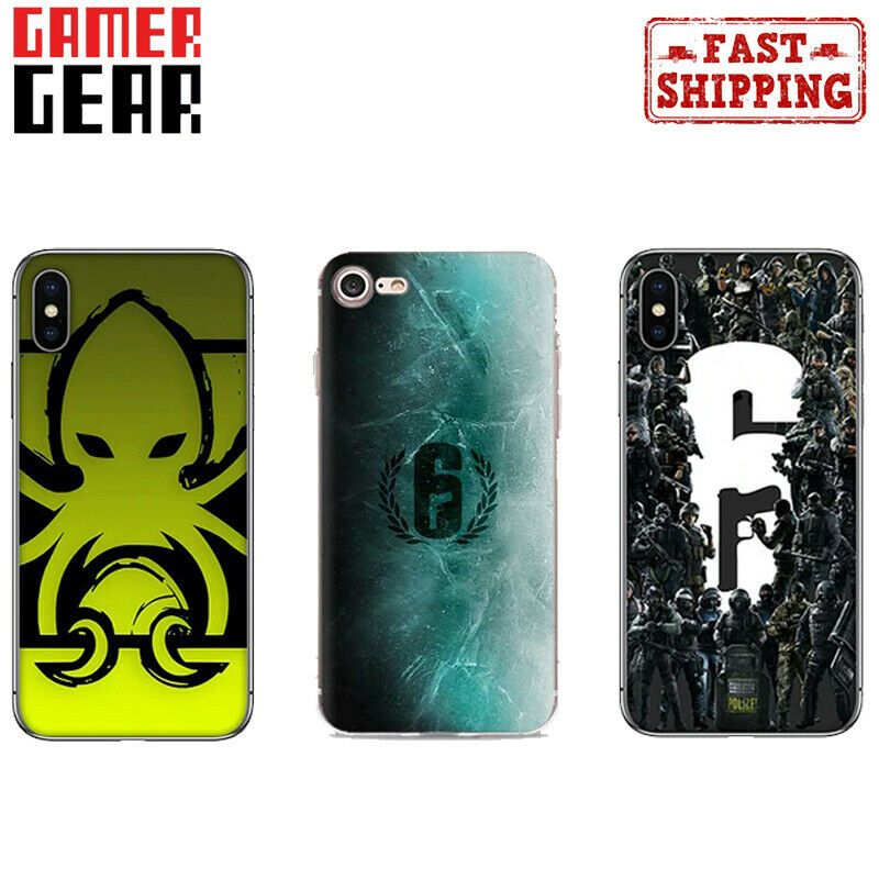 Rainbow Six Siege Game Case Cover For Iphone 6 7 X Xs 11 Gift