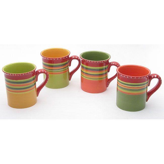 Certified International Hot Tamale Mugs