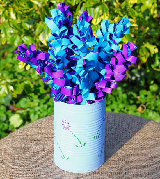 How to make paper flowers paper hyacinths pinterest tissue how to make paper flowers tissue paper flowers making paper flowers with children mightylinksfo