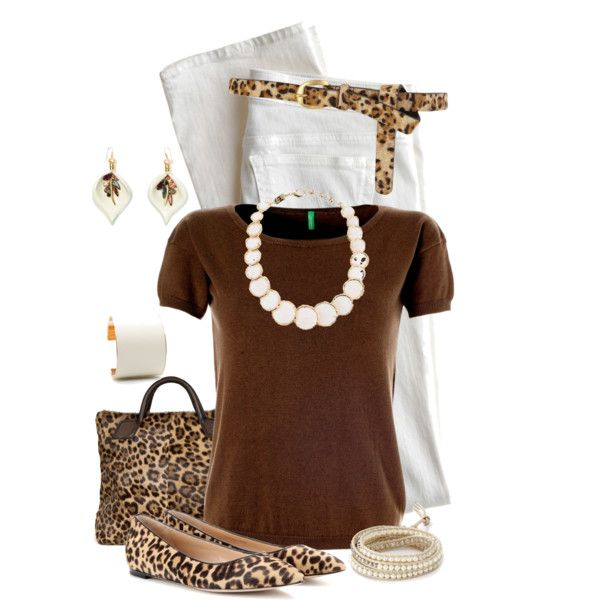 """Leopard Belt"" by maggie-johnston on Polyvore"