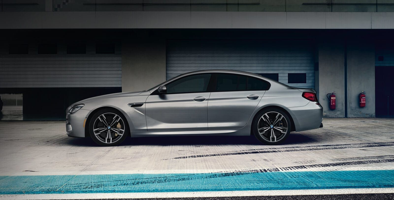 Profile Shot Of The 2019 Bmw M6 Gran Coupe In A Garage Bmw Car