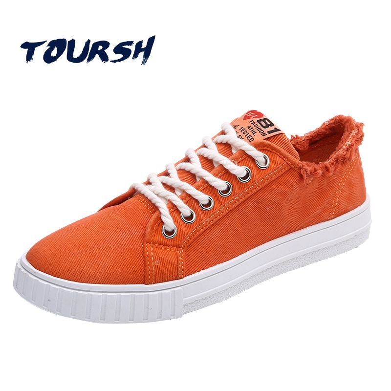 a50ebd75a6378 TOURSH Newly Skateboarding Shoes Sneakers Men Shoes Lace-up Classics  Outdoor Breathable Skateboard Sport Shoes
