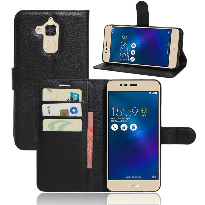 huge selection of c02d5 24cb4 For Asus Zenfone 3 Max ZC520TL Case 5.2 Inch Coque Wallet Flip Cover ...