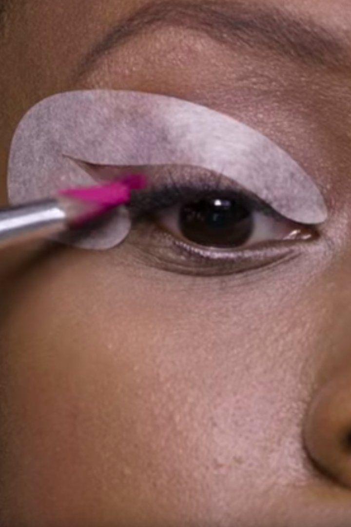 Best 25 Eyeliner Stencil Ideas On Pinterest Cat Eye