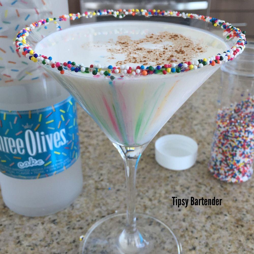 Tipsy Bartender Cake Batter Martini creme de cacao cake vodka