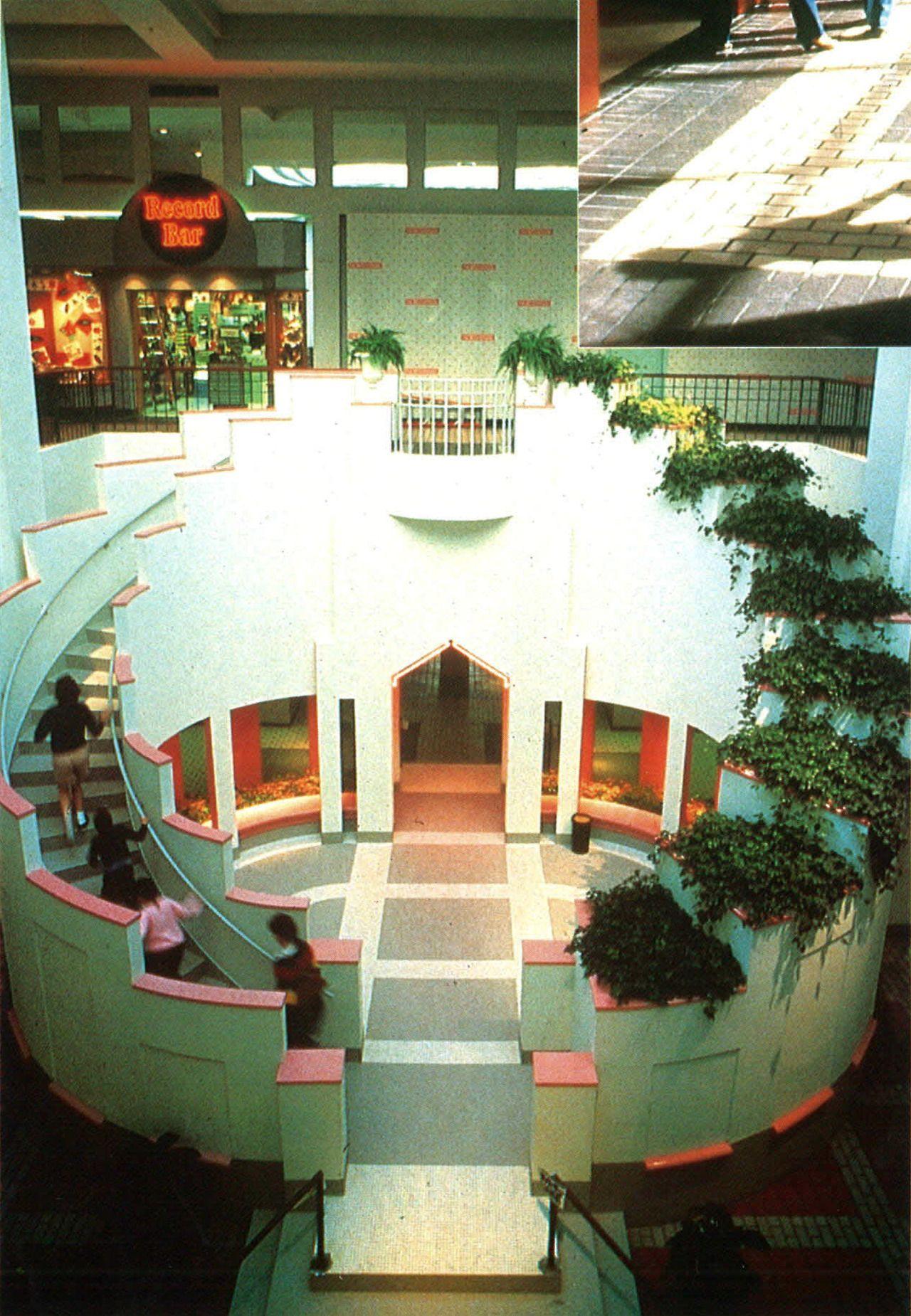 Jackson Ms Mall : jackson, Northpark, Mall,, Ridgeland,, Mississippi., Built, 1984., Century, Interior, Design,, Design, Books,