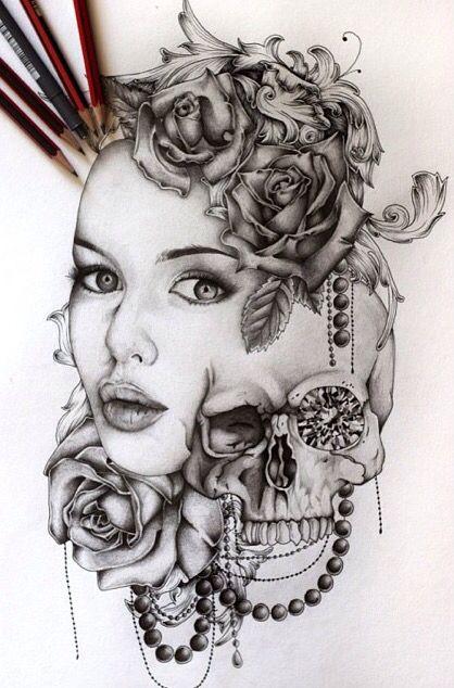 Pin By Shanelle Aliesha On Tattoo Tattoos Death Tattoo Chest