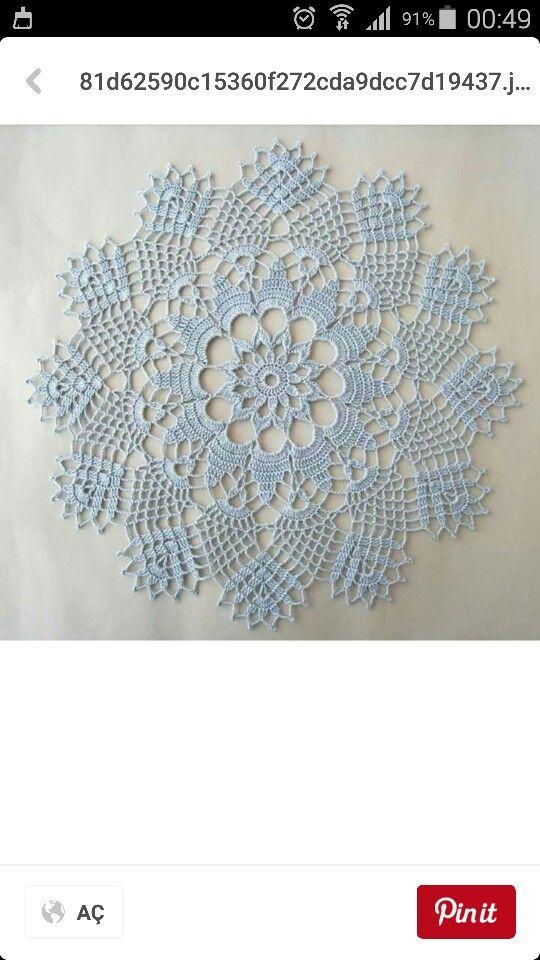 Pin de Martha Beatriz Antolinez en Carpetas en crochet | Pinterest ...
