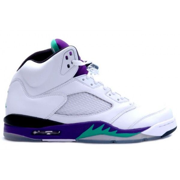 Air Jordan 5 Retro Grape White New Emerald-Grape Ice-Black $93.99 http: