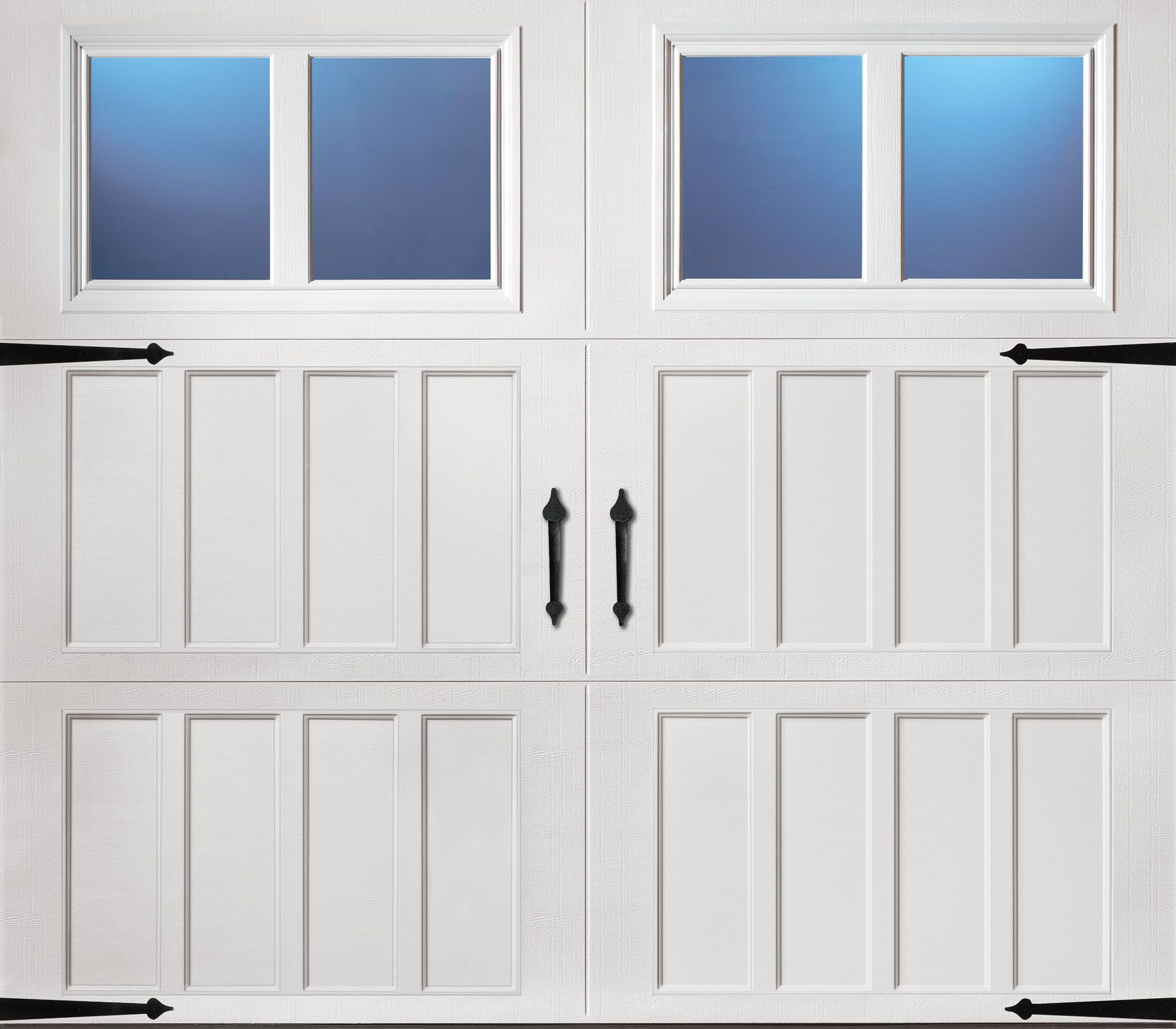 Classica northampton garage door white 9 x 8 no windows - Amarr Classica Santiago Closed Arch S1 8x7 Amarr Classica Pinterest Carriage House Garage Doors And Arch