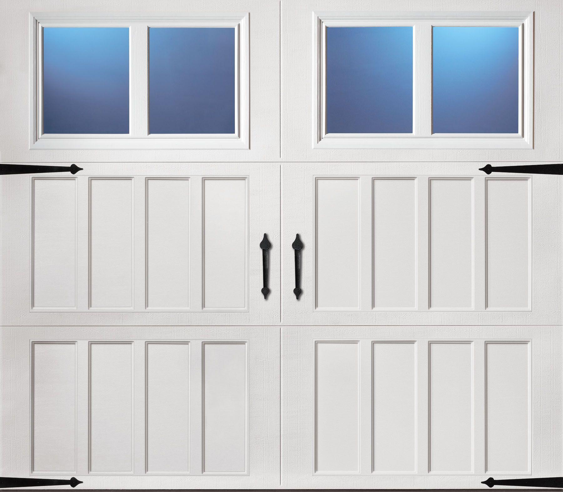 Classica northampton garage door white 9 x 8 no windows - Classica Northampton Garage Door White 9 X 8 No Windows 45