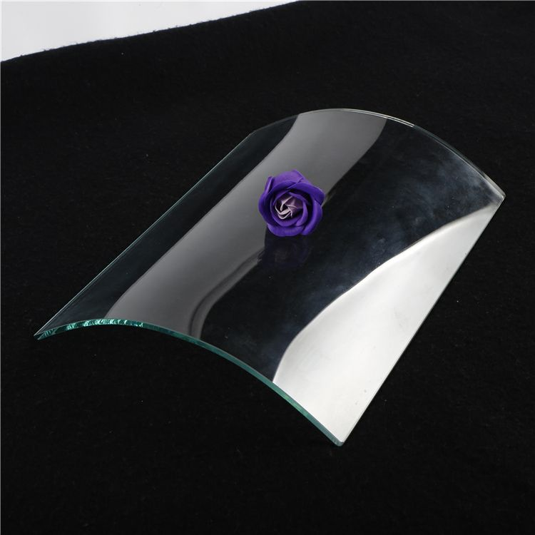 Price double 5mm dome decorative bent laminated building