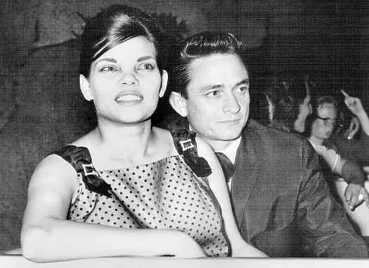 Young Johnny Cash And Vivian Was Johnny Cash's firs...