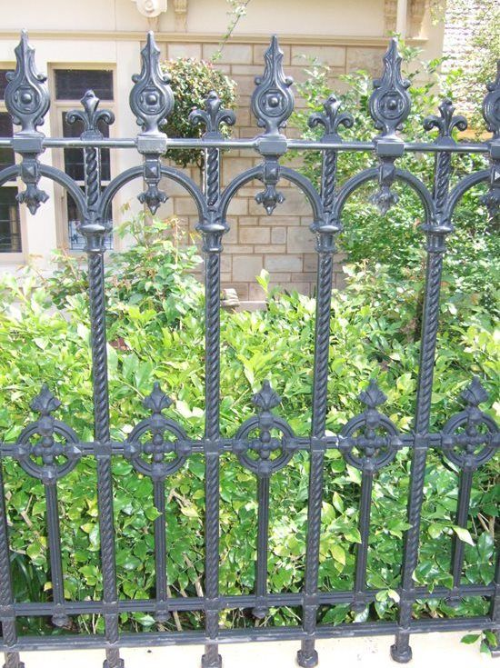 There Are So Many Different Wrought Iron Fence Colors You Should