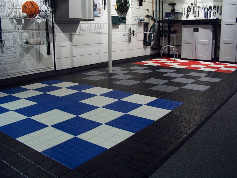 Garage Floor Covering Taller De Motos Pisos Palets