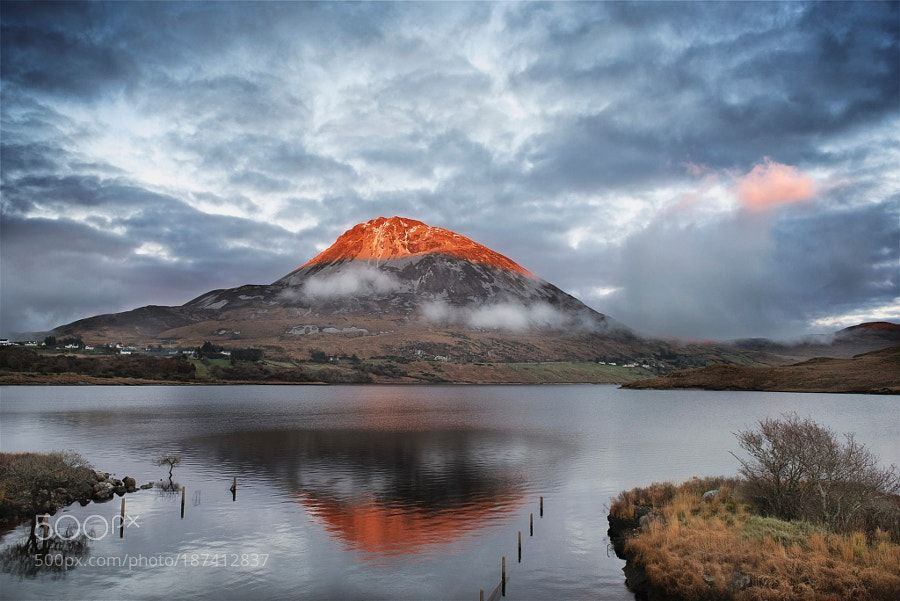 Red Errigal by trevcole. Please Like http://fb.me/go4photos and Follow @go4fotos Thank You. :-)