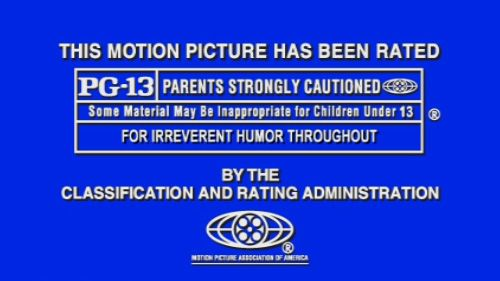 Image result for pg 13 movie rating created 1984