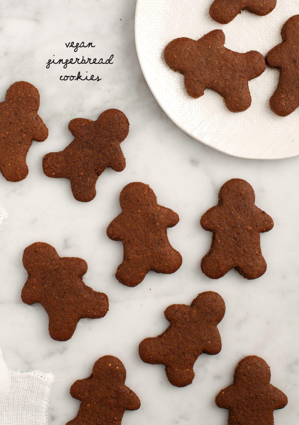 Vegan Gingerbread Cookies Recipe Love And Lemons Recipe Vegan Gingerbread Cookies Vegan Gingerbread Gingerbread Cookies