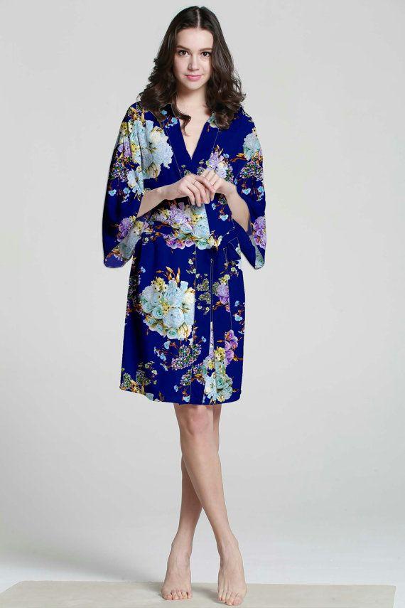 I04008 cotton dressing gown ladies bath warp warm by MilkRobe ...