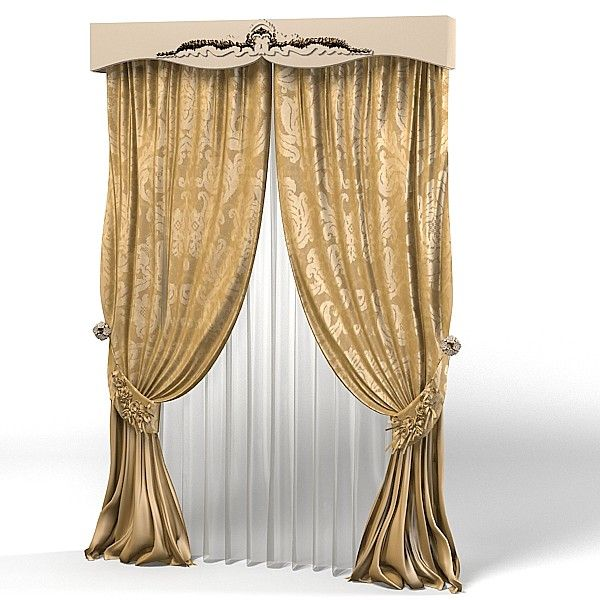 curtain classic luxury baroque canopy glamour window decoration Model available on Turbo Squid the worldu0027s leading provider of digital models for ...  sc 1 st  Pinterest & 3Dsmax Curtain Classic Luxury - 3D Model | Window ttt | Pinterest ...