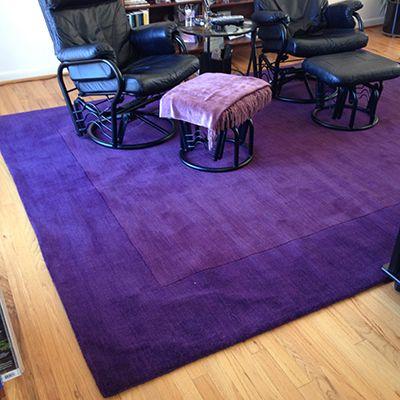purple surya wool rug | Rugs, Wool area rugs, Area rugs