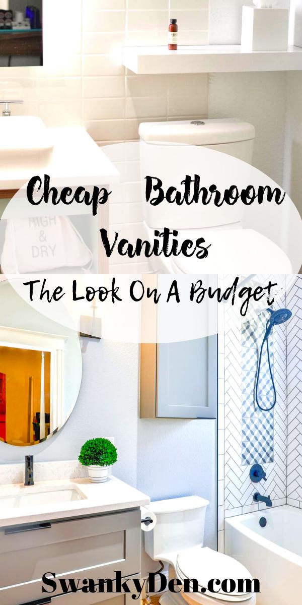 Cheap Bathroom Vanities Under 200 Cheap Bathroom Vanities Cheap Bathrooms White Vanity Bathroom