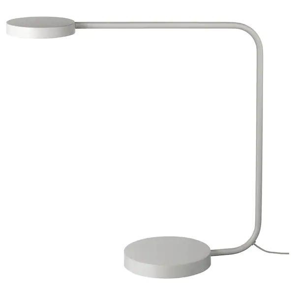 Ypperlig Led Table Lamp Light Gray In 2020 Led Table Lamp