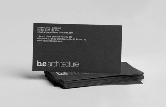 Architect Business Cards Architecture Business Cards Architect Logo Name Card Design