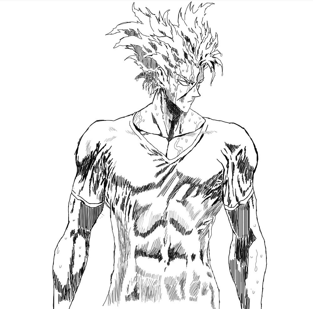 Garou One Punch Man One Punch Anime One Punch Man One Punch