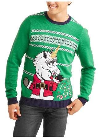 unicorn big mens ugly christmas sweater 2xl mens big and tall sweaters pinterest ugly christmas sweater christmas sweaters and mens ugly christmas