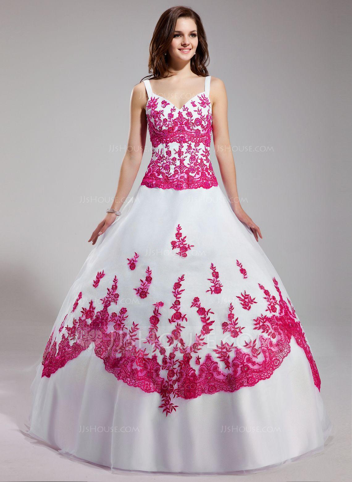Resultado de imagen para vestidos de 15 años con flores ...