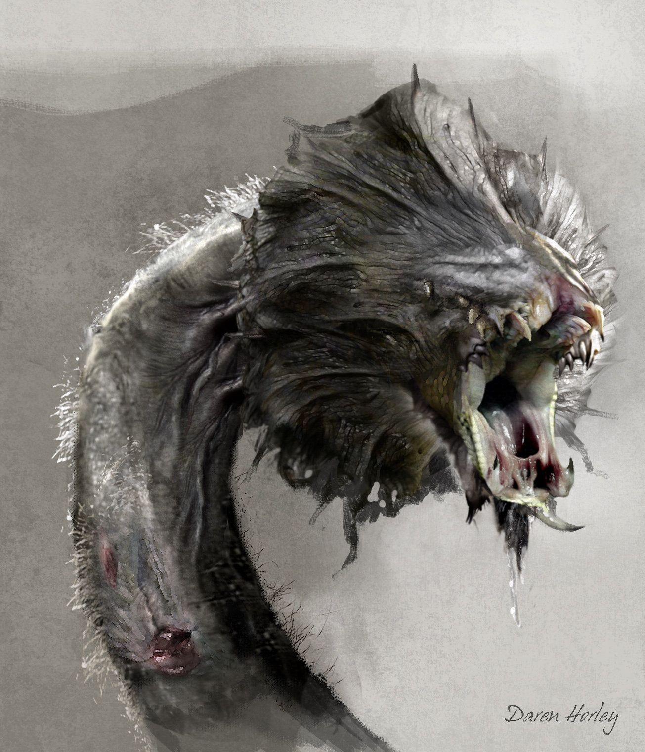 Concept design and texture paint for 47 Ronin movie ...