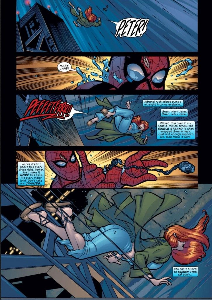 Spider-Man learns his lessons from Gwen Stacy and saves ...
