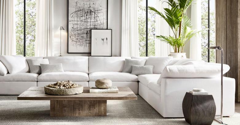 Rh Cloud Sofa Home Living Room Apartment Decor Living Room Designs
