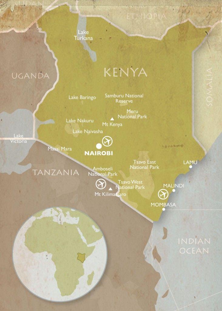 Kenya Metro Map httpholidaymapqcomkenya metro map 2html holiday