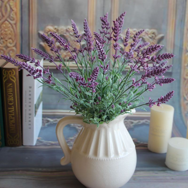 Popular Lavender Flower Arrangement Buy Cheap Lavender Flower Flores Artificiales Arreglos De Flores Flores